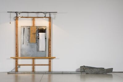 Edward and Nancy Reddin Kienholz, 'White Easel with Wooden Hand', 1978