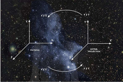 Chiara Fumai, 'Which Head Nebula (Projection)', 2016