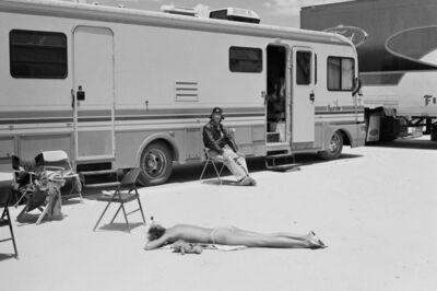 Arthur Elgort, 'Carmen Kass, Death Valley, CA, Vogue', 2000