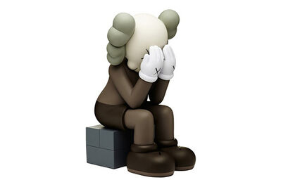 KAWS, 'PASSING THROUGH BROWN (OPEN EDITION)', 2018