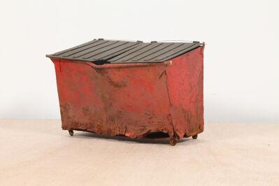 Drew Leshko, 'Rusted Red Dumpster', 2019