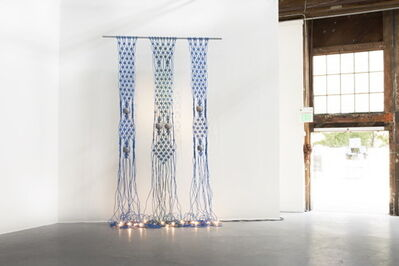 Dana Hemenway, 'Untitled (extension cords - blue) ', 2013