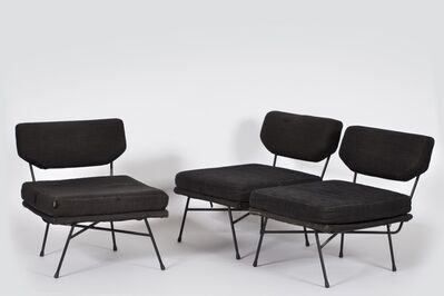 B.B.P.R., 'Arflex, Milano, Three Elettra Armchairs', 1953