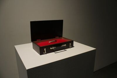 Zevs, 'Mona Lisa Yubitsume', 2013