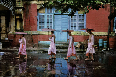 Steve McCurry, 'Procession of Nuns, Rangoon, Burma ', 1994