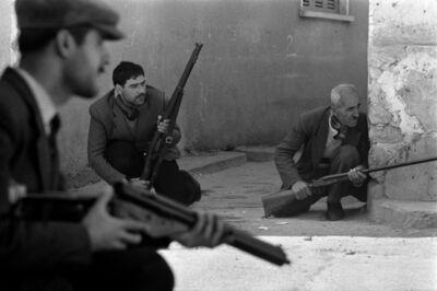 Don McCullin, 'Gunmen, Limassol, Cyprus', 1964