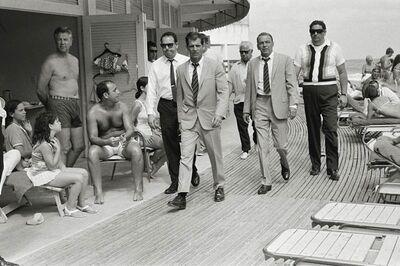 Terry O'Neill, 'Frank Sinatra in Miami Beach', 1968