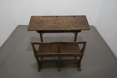 Nicène Kossentini, 'The School Desk', 2020