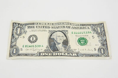 "Gianni Motti, '""One Dollar"" Serie 1998 E81601539A', 2009"