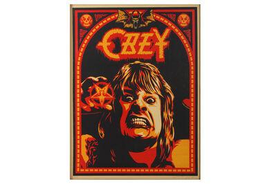 Shepard Fairey, 'Ozzy'