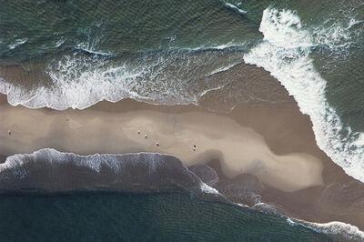 John Griebsch, 'Sand Bar, Waves and Seagulls - Off Martha's Vineyard, MA ', 2005