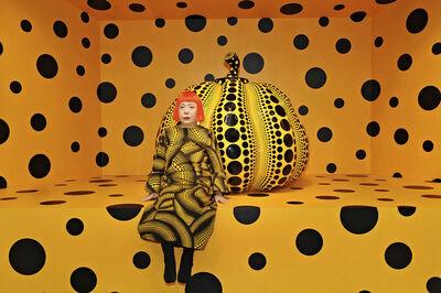 Yayoi Kusama, 'Kusama with Pumpkin. Installation View: Aichi Triennale ', 2010