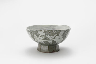 Huh Sangwook, 'Buncheong O-moon Big Bowl (Pattern)', 2018