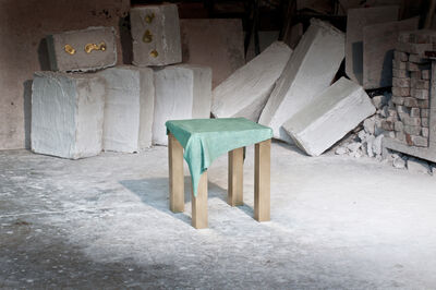 Jens Praet, 'Dressed Stool', 2012