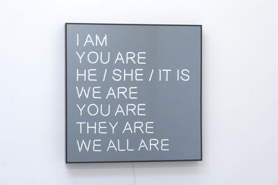 Jeppe Hein, 'We All Are', 2013