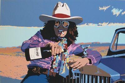 Billy Schenck, 'Champagne on the Plains'