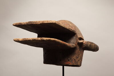 Unknown African, 'Ivorian Senufo Fireman Helmet Mask', Early 20th Century