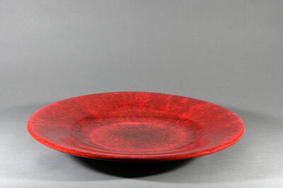 Tommy Zen, 'Red Plate 2016-12-08-02', 2019