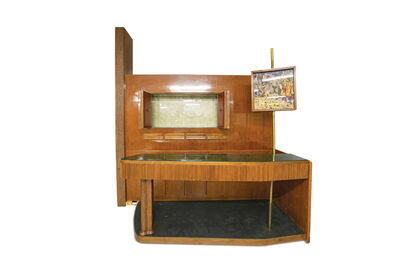Osvaldo Borsani, ' Large MidCentury Bar cabinet by Osvaldo Borsani from 1950s', ca. 1950