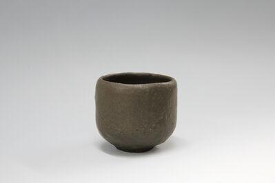 Shiro Tsujimura, 'Black tea bowl, Raku style', 2016