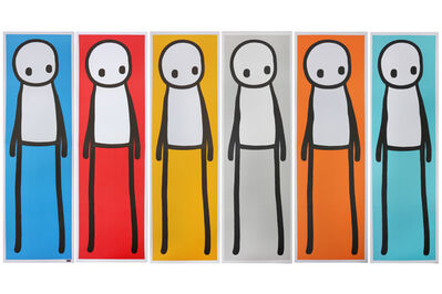 Stik, 'Set Of 6 Book Posters', 2015