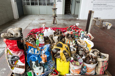 Thabo Pitso, 'Feeding of the Five Thousand Scheme I', 2015