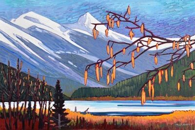 Nicholas Bott, 'Spring - Lillooet Lake', 2019