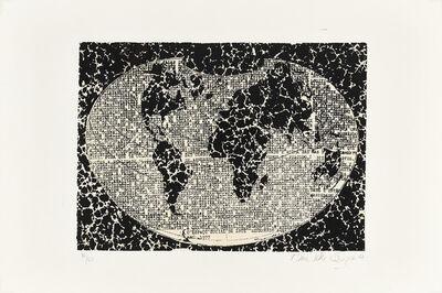 Anna Bella Geiger, 'O espaço social da arte', 1977