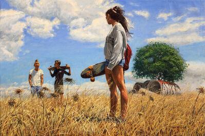 Michele Del Campo, 'Field Wanderers', 2019