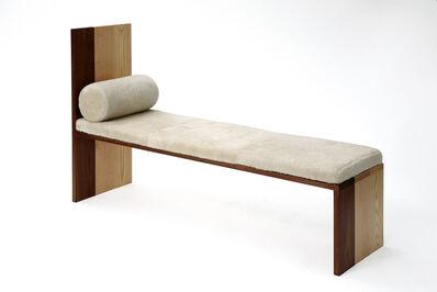 Tinatin Kilaberidze, 'Long Maple Ash Walnut Bench by Tinatin Kilaberideze', 2015