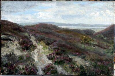 Konstantin Gorbatov, 'Rolling Meadow Landscape', 1916
