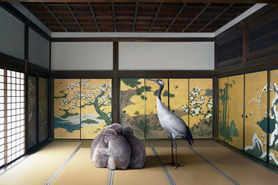 Karen Knorr, 'Guardian of the Temple, Nazen-ji  Temple, Kyoto', 2015