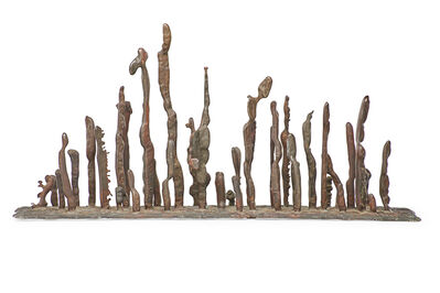 Harry Bertoia, 'Early untitled sculpture (Line and Platform), Bally, PA'