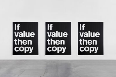 SUPERFLEX, 'If Value Then Copy', 2017