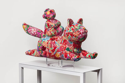 Jiang Shuo, 'Chinese  Cat 中国花猫', 2014