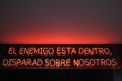 Avelino Sala, 'En enemigo esta dentro, disparad sobre nosotros', 2016