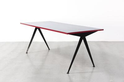 Jean Prouvé, 'Cafétéria no. 512 table, A.K.A. compas table', ca. 1950
