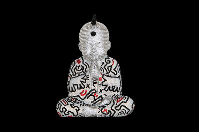 Metis Atash, 'Punk Buddha Love Is The Answer III feat. Haring (small)', ca. 2019