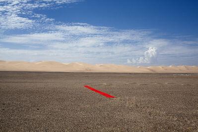 Alfredo de Stefano, 'Red line in Namibia', 2013