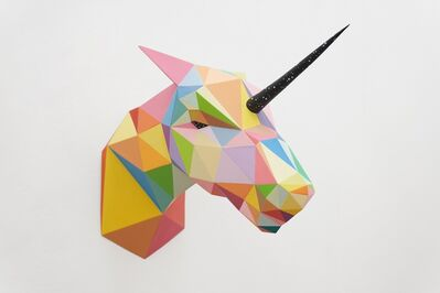 Okuda San Miguel, 'Unicorn', 2019