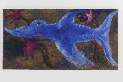 Rainer Fetting, 'Blue Fish', 1989