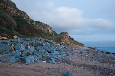 Donald Weber, 'Gold Beach, Sector How, Green. October 4, 2013, 5:45am. 17 Celsius, 82% RELH, Wind SW, 13 Knots. VIS: Good, Broken Clouds', 2013