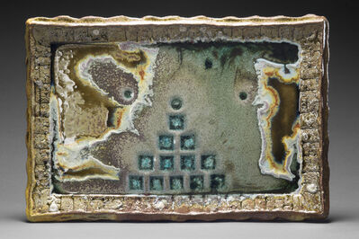 Tony Moore, 'Wood Fired Ceramic Painting: 'Fire Painting 4.4.18'', 2018