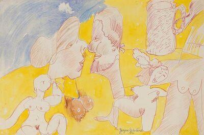 Joyce Wieland, 'Two Lovers', 1992