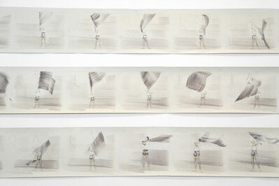 Lola Lasurt, 'Flag dancing moves', 2015