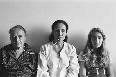 Anna Maria Maiolino, 'Por um Fio (serie fotopoemação) from Photo-poem-action series', 1976