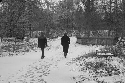 Monika Sosnowski, 'Footprints, Van Buskirk Island', 2020