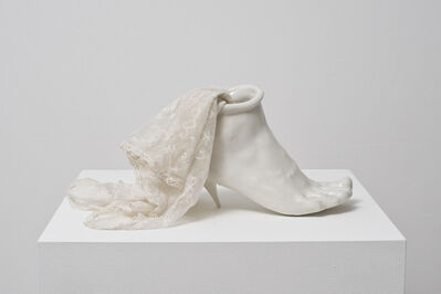 Birgit Jürgenssen, 'Porcelain Shoe', 1976
