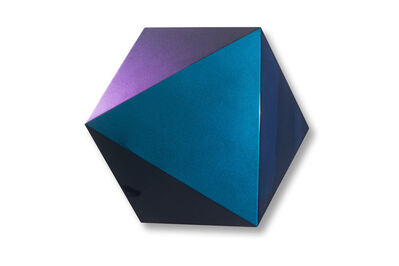 Hanna Roeckle, 'Rosetta B, 75 x 75 x 16 cm, Lacquer on SWISSCDF, 2017 ', 2017