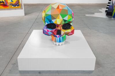 Okuda San Miguel, 'Skull', 2016